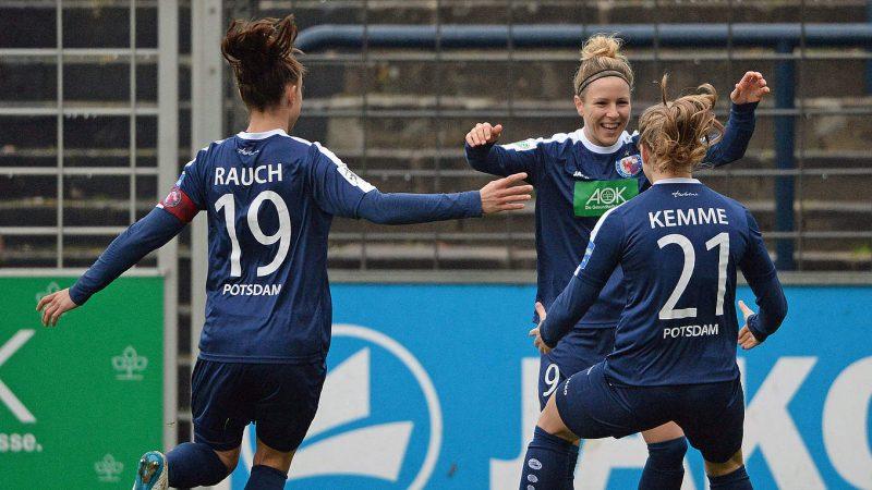 Turbine Postdam amplía su ventaja en el liderato de la Bundesliga