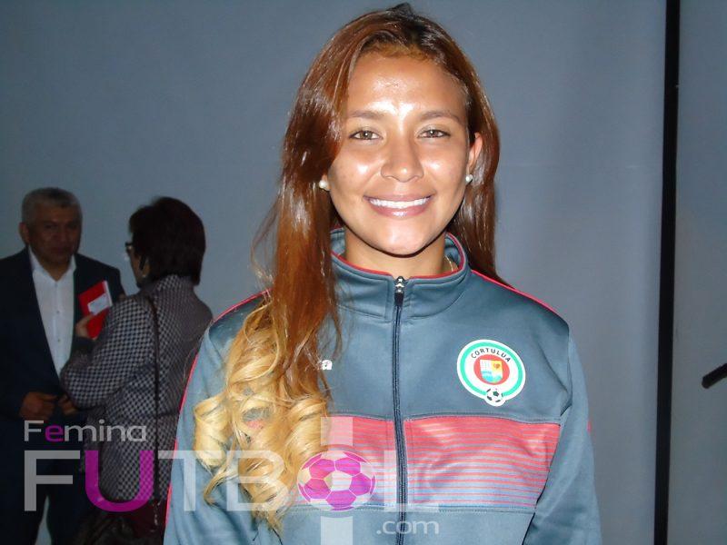 """""""Las jugadoras colombianas tienen un nivel futbolístico muy bueno"""": Bárbara Murillo"""