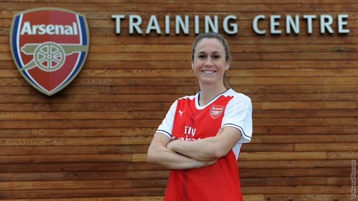 Heather O'Reilly se une al Arsenal de Inglaterra