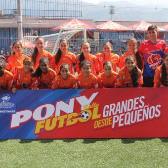Bloques de Limonar se proclama campeón del PonyFutbol Femenino 2017