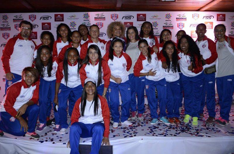 Unión Magdalena se alista para el comienzo de la liga femenina.