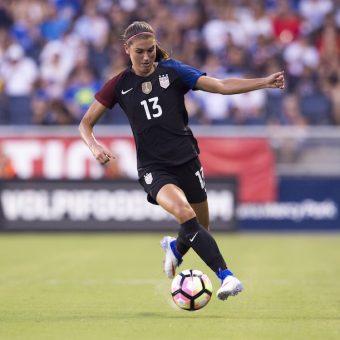La selección de Estados Unidos se prepara para la Copa SheBelieves.