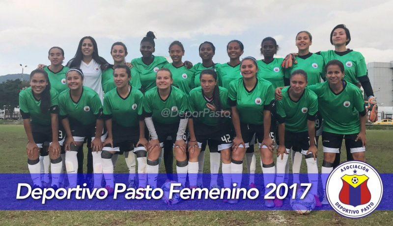 Deportivo Pasto presenta su plantilla para la Liga Aguila Femenina 2017