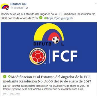 La Federación Colombiana de Fútbol en el ojo del huracán