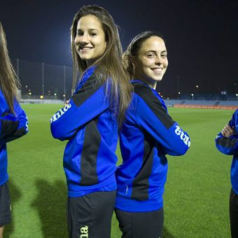 [Galería] Hermanas unidas por el fútbol