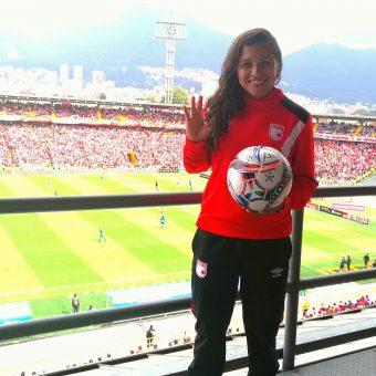 Santa Fe vuela alto y goleó sin piedad a Atlético Huila