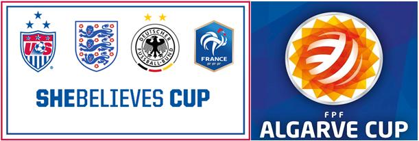 ¿Qué son la copa Algarve y la copa She Believes?