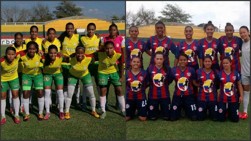 """En tablas """"el derby costeño"""" de la Liga Femenina entre Unión Magdalena y Real Cartagena"""
