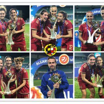 España se corona campeón de la Copa Algarve, en su primera participación