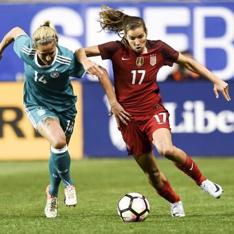 Estados Unidos y Francia inician con victoria la Copa She Believes 2017