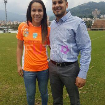 Oriánica Velásquez es naranja, Envigado  FC – Formas Íntimas estrena refuerzo de lujo.