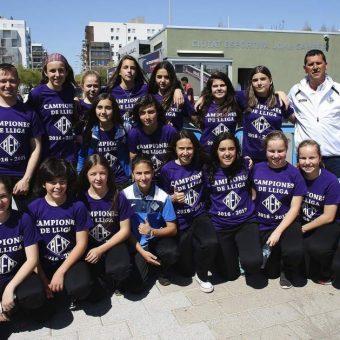 AEM Lleida el equipo femenino infantil que marcó un hito en España