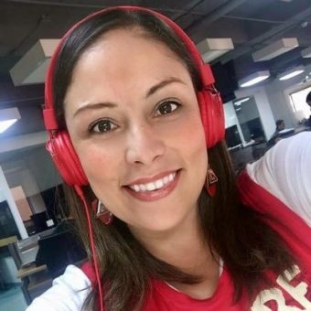 """La Liga es de gran nivel. Si ésta es la primera, ya me imagino las que vendrán. Será maravilloso."": Juliana Salazar Meza."