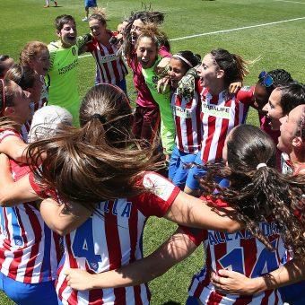 Atlético de Madrid, campeón de la Liga Iberdrola 2016-17