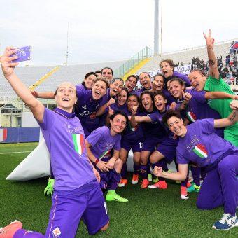 Fiorentina se consagra campeón en la Serie A Femenina de Italia
