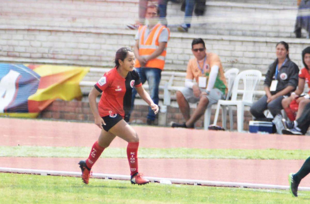 Siempre Sone Jugar Futbol De Forma Profesional Y Se Me Esta Cumpliendo Lina Arciniegas Jugadora Del Cucuta Deportivo Femina Futbol