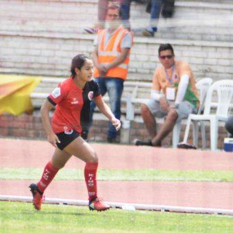 """""""Siempre soñé jugar fútbol de forma profesional y se me está cumpliendo"""", Lina Arciniegas jugadora del Cúcuta Deportivo"""