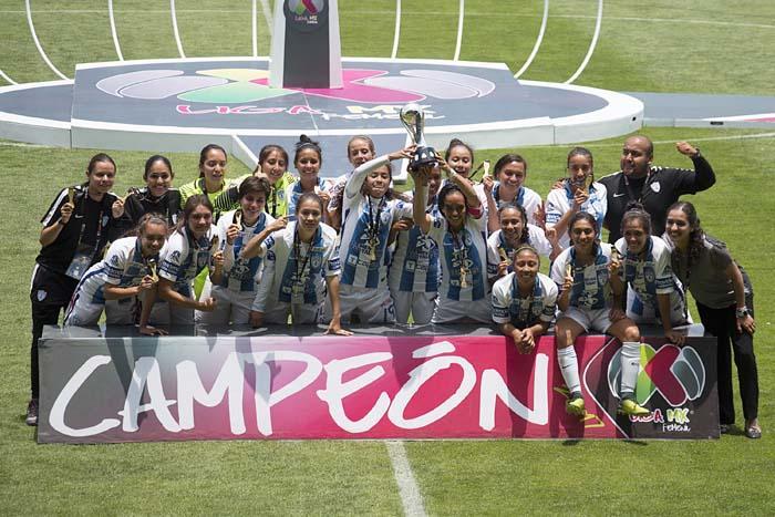 Pachuca se quedó con la primera Copa de la Liga MX Femenil