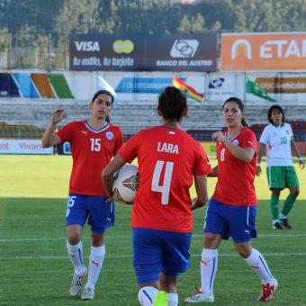 Chile presenta nómina de 29 jugadoras para amistoso contra Perú