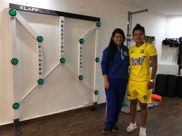 Manuela González se recuperó de su más reciente lesión con CenRED