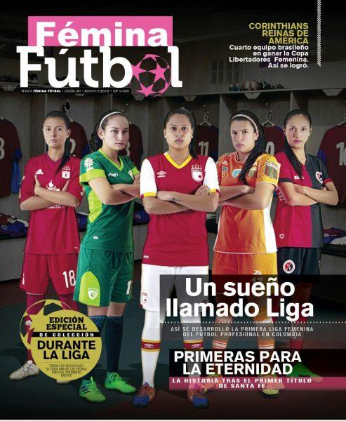 Fémina Fútbol lanza su primera revista de fútbol femenino en Colombia