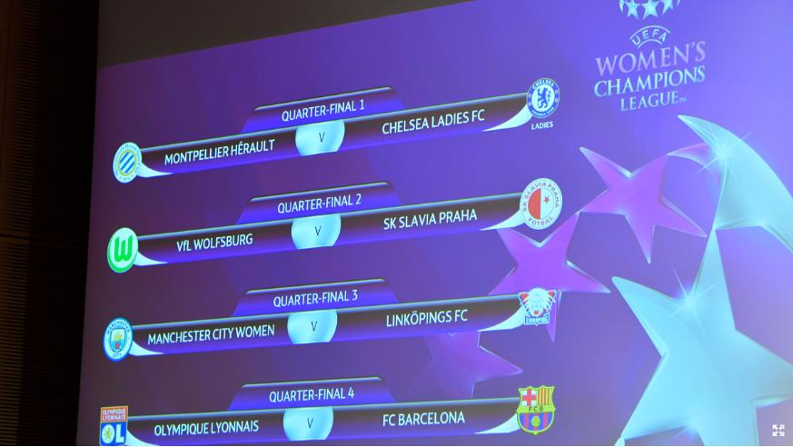 Calendario de cuartos de final de Champions League Femenina ...
