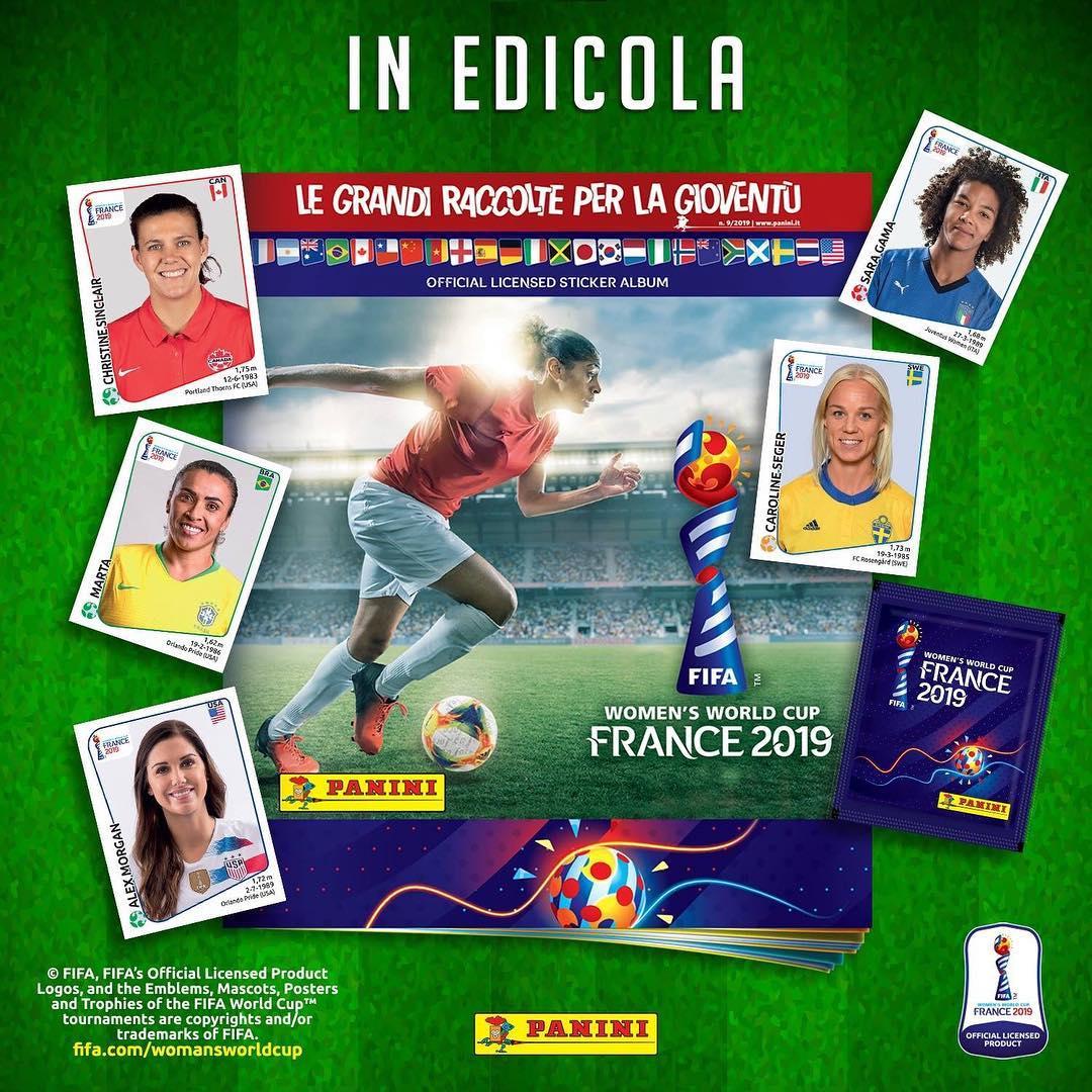 Panini fifa mujeres-copa del mundo canadá 2015 cromos-álbum