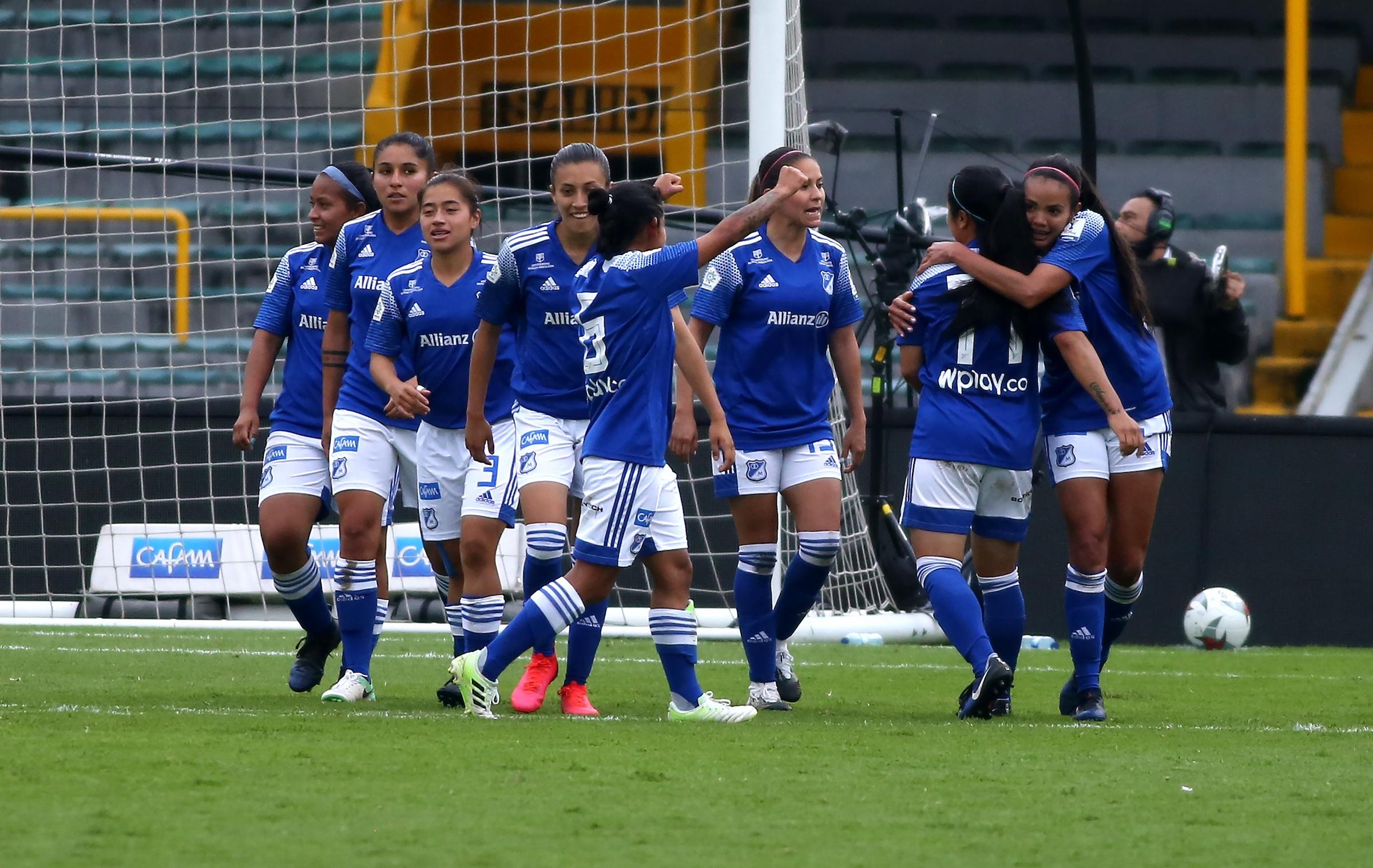 Millonarios cuarto clasificado para cuartos de final de la liga femenina BetPlay Dimayor 2020 - Fémina Fútbol
