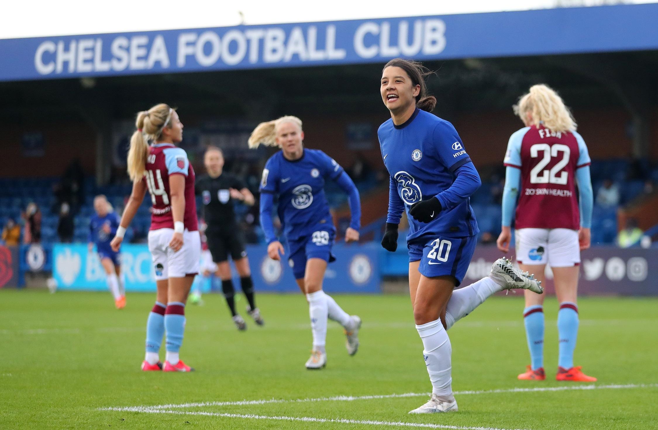 Chelsea le pisa los talones al Manchester United y Arsenal en la liga inglesa - Fémina Fútbol