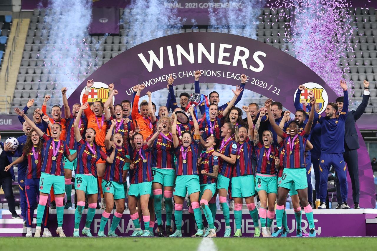 Barcelona para la historia: campeonas de Europa - Fémina Fútbol